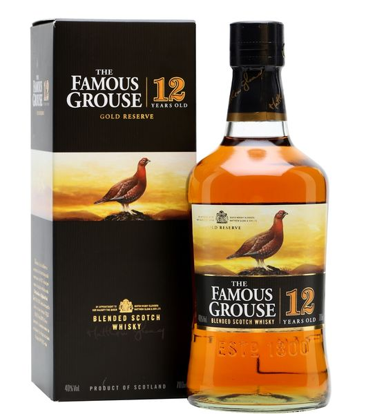 famous grouse 12 years gold reserve