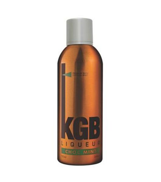 kgb vodka choc mint