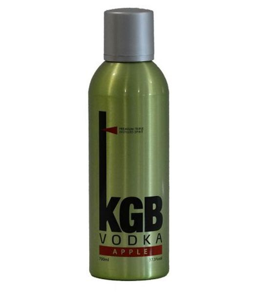 kgb vodka green apple