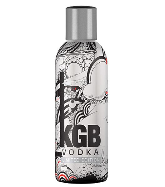 kgb vodka limited edition