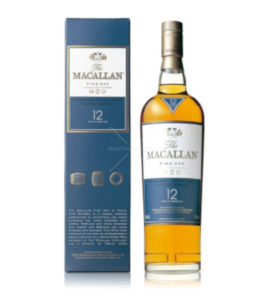 macallan 12 years fine oak