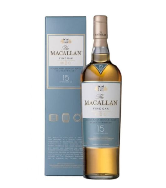 macallan 15 years fine oak